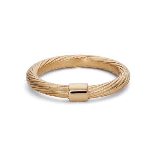 Jane Kønig - Medium Salon ring i forgyldt sølv