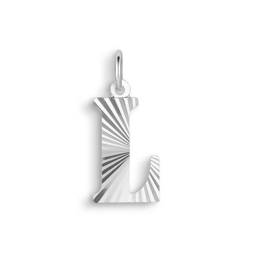 Jane Kønig - Reflection Letters i sølv - L