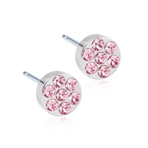Blomdahl - Titanium øreringe Brilliance Plenary Light Rose - 15-12191-24