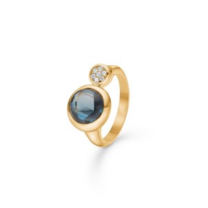 Mads Ziegler - London Dome ring i 14 kt guld - 1546076