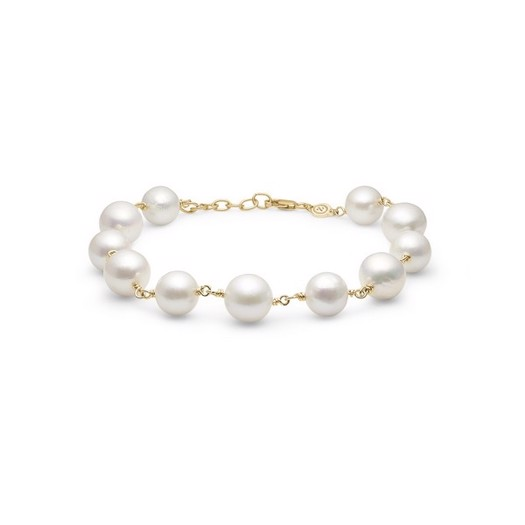 Mads Z - Treasure armbånd i 14 karat guld med perler