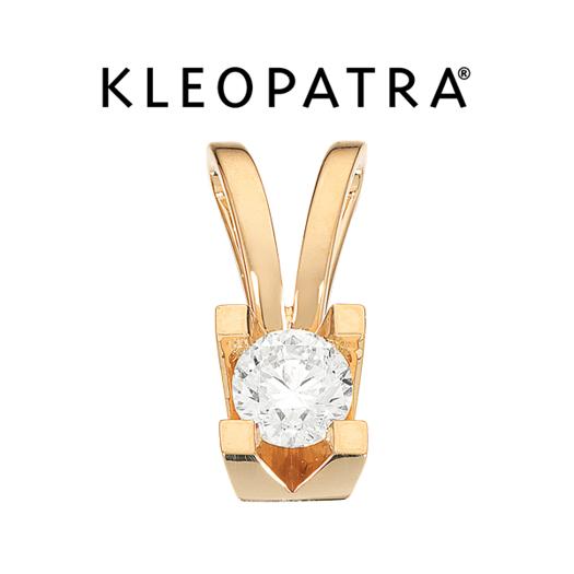 Kleopatra Vedhæng 14 kt. Guld 0,50 ct.