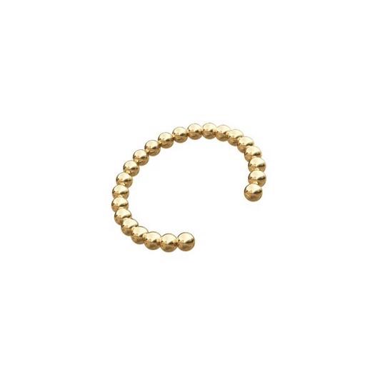 Piercing smykker - Pierce52 minikugler ear cuff i 14kt. guld