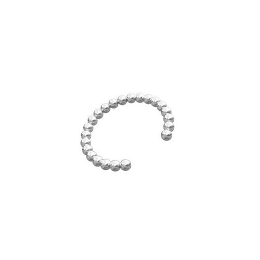 Piercing smykker - Pierce52, sølv ear cuff med kugler