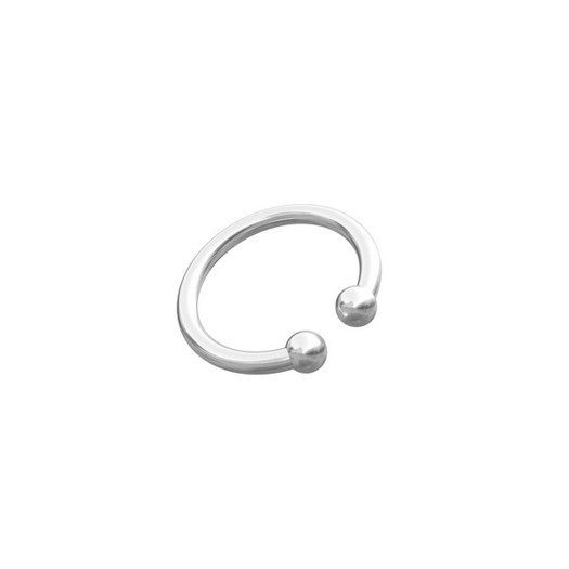 Piercing smykker - Pierce52, sølv ear cuff