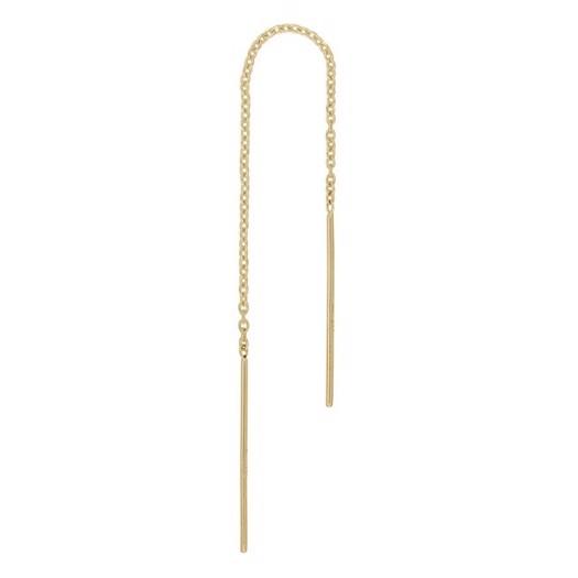 Piercing smykker - Pierce52, 8-14kt. guld ørekæde