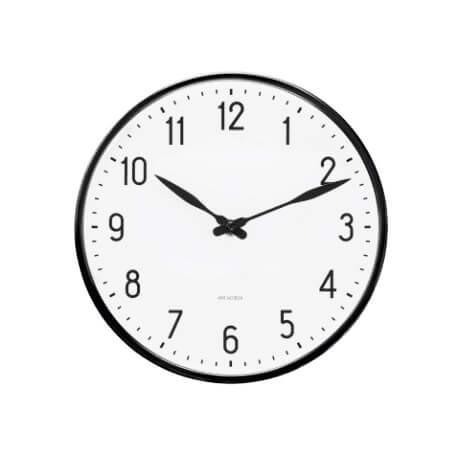 Arne Jacobsen - Station Vægur - Vælg mellem 4 størrelser