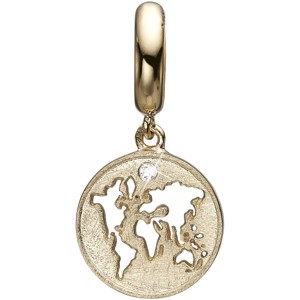 Christina Collect - THE WORLD forgyldt charm