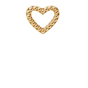 Christina Watches sølv charms - HEART DOTS | 630-G04
