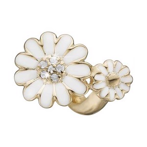 Christina Collect - MARGUERITE TWIST forgyldt charm