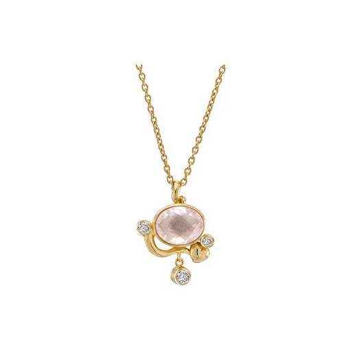 Rabinovich - Lovely halskæde i forgyldt sølv