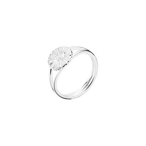 Lund Copenhagen Marguerit ring - 9 mm. sølv