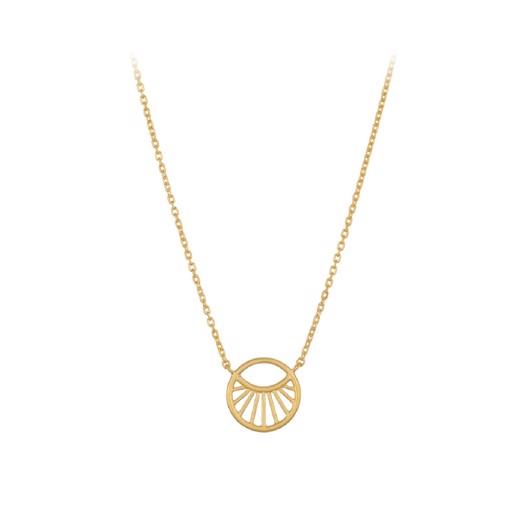 Pernille Corydon - Small daylight forgyldt sølv halskæde*