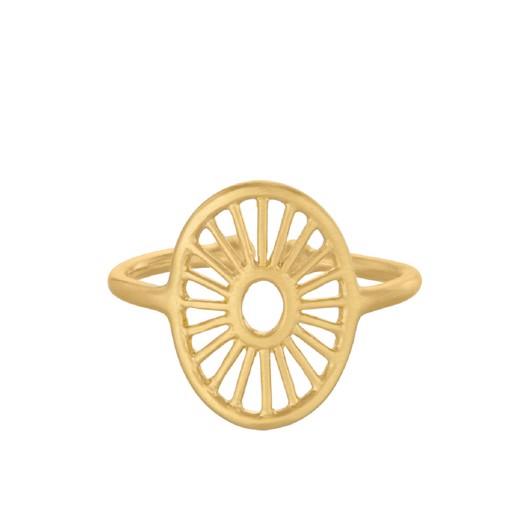 Pernille Corydon - Small daylight forgyldt ring