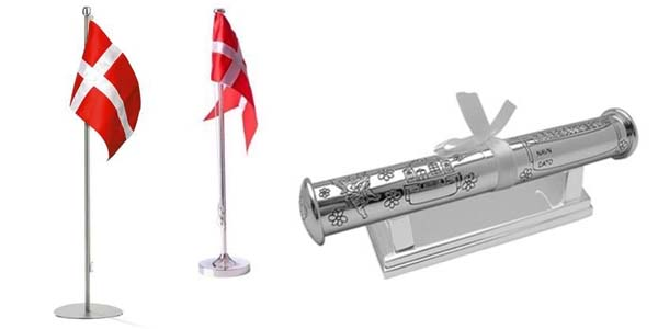 Fremragende Flag og dåbsrør - Dåbsgaver og dåbsartikler - SPAR 10% YB82