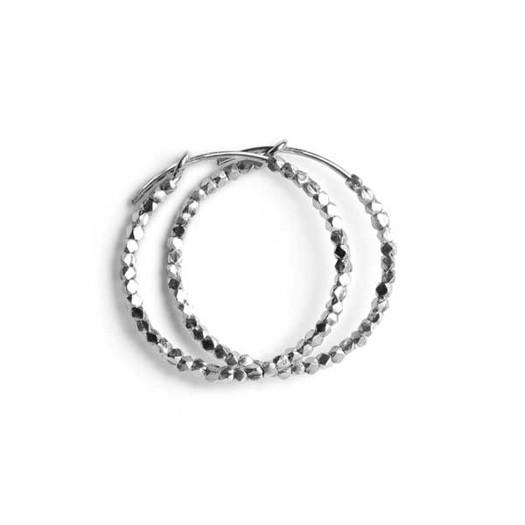 Jane Kønig - Small bead creol i sølv