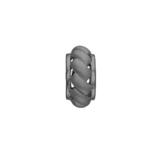 STORY sort sølv charm - Endless Ring**