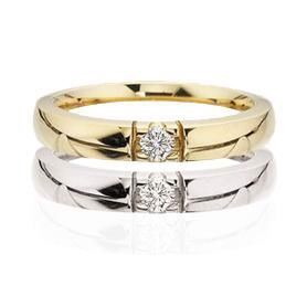 Grace Alliance ring 14 kt. 1x0,03