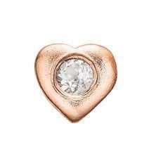 Christina collect - Rosa forgyldt Element - Topaz Heart