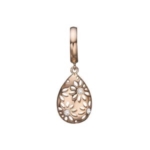 Christina Collect 14 kt. guld charm - Magic Flower