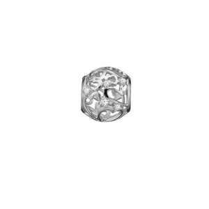 Christina Collect 14 kt. hvidguld charm - Magic Hearts 693-WG11