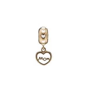 Christina Jewelry - Forgyldt charm Mom Love 623-G125