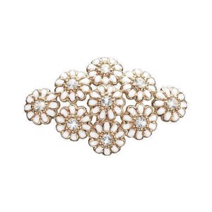Christina Jewelry - Rosa Forgyldt charm Marguerites Field 630-R114