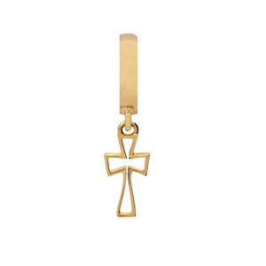 Christina Collect forgyldt charms - Cross