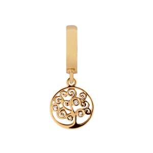 Christina watches forgyldt charms - Tree Of Life - 610-G30