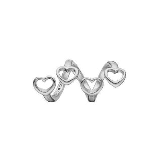Christina Jewelry and Watches - Sølv charm - 630-91 - FAMILY HEARTS