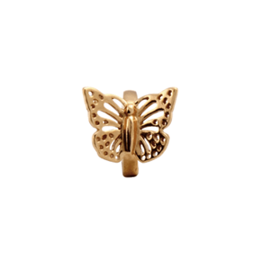 Christina Collect forgyldt charms - Butterfly