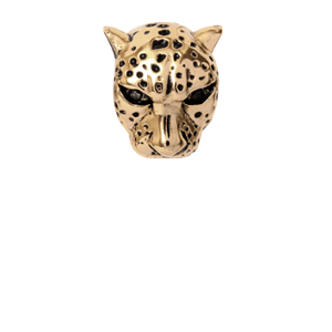 Christina Collect forgyldt charms - Leopard