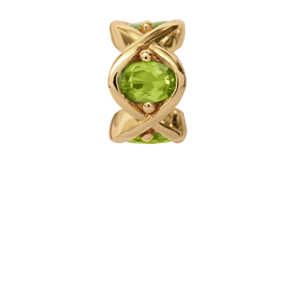 Christina Collect forgyldt charms - Peridot