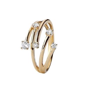 Christina Collect - Forgyldt ring YOUR CHOICE - 800-3.16.B