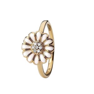 Christina Collect - Forgyldt ring TOPAZ MARGUERITE - 800-3.19.B