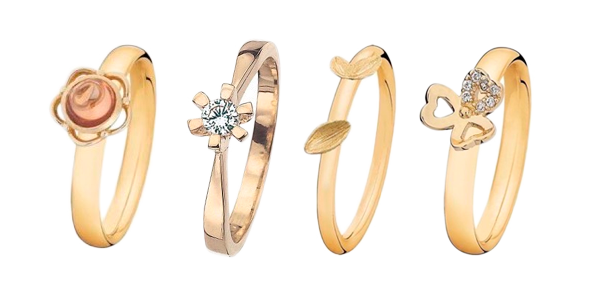 0c06c2028260 Ringe i sølv og guld - Stort udvalg i smukke ringe