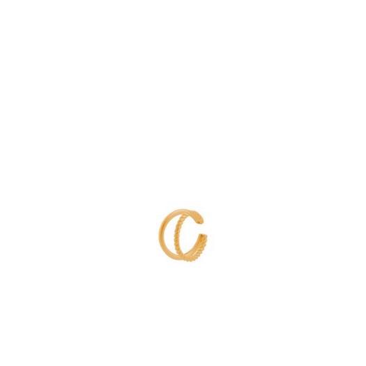 Pernille Corydon - Maze Ear Cuff i forgyldt