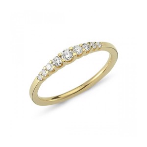 14kt Empire Diamantring med 0,24ct.