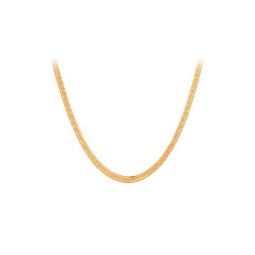 Pernille Corydon - Thelma halskæde i forgyldt sølv*