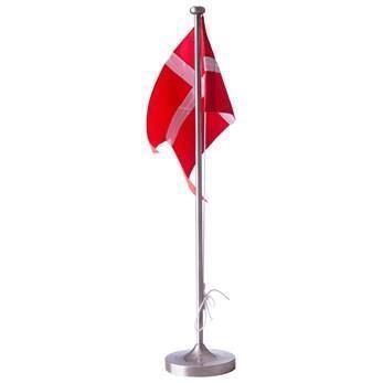 Hejl flagstang 38,5 cm - Fortinnet med motiv