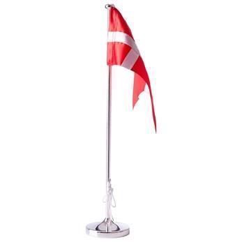 Hejl flagstang 38,5 cm - Forkromet