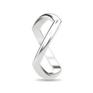 Spinning jewelry sølv ring - CROSSING PATHS