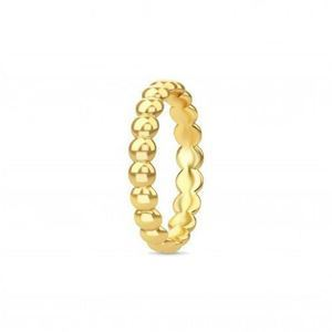 Spinning jewelry forgyldt sølv ring - Golden feeling