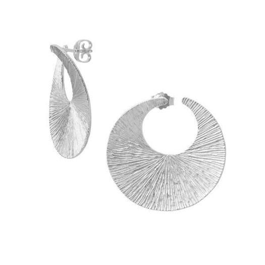 Billede af Drømmefanger Øreringe i Sølv - Vælg størrelse