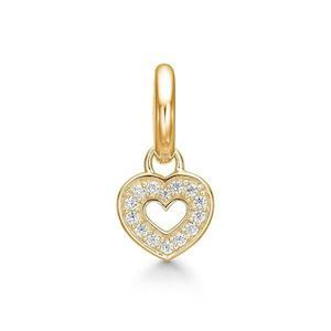 STORY Forgyldt Charm - Twinkle Heart 5208003